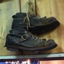 old boots in Ski and Sport Shack in Wakefield MA